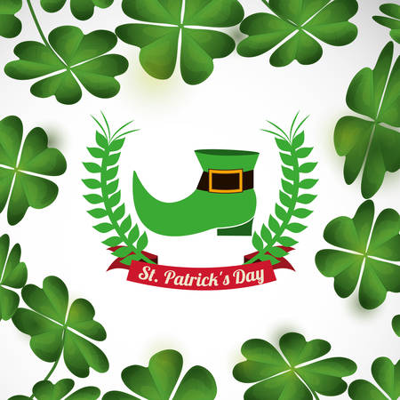 irish culture: saint patricks day design, vector illustration eps10 graphic