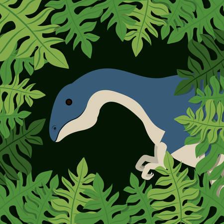 dinosaur concept design, vector illustration eps10 graphic