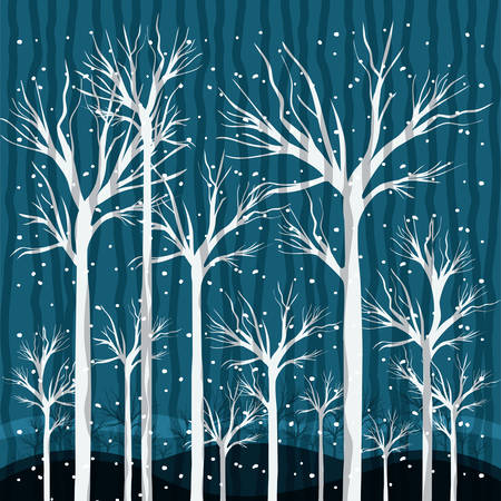 Wintersaison Design, Vektor-Illustration eps10 Grafik