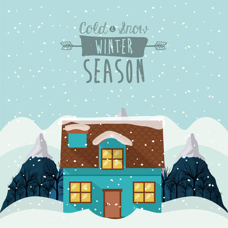 winter season: winter season design, vector illustration eps10 graphic