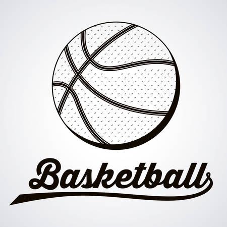 balon de basketball: basketball sport design, vector illustration eps10 graphic Vectores