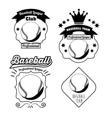 league: baseball league design, vector illustration eps10 graphic Illustration