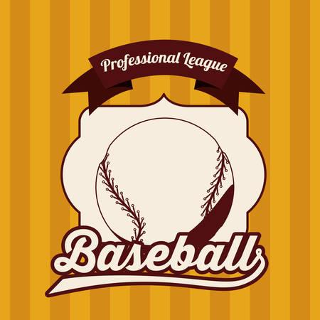 league: baseball league design, vector illustration  graphic