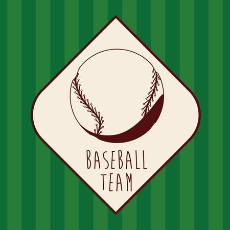 league: baseball league design, vector illustration  graphic
