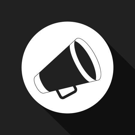 amplify: director megaphone   design, vector illustration eps10 graphic