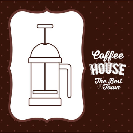 coffee house: coffee house design, vector illustration eps10 graphic