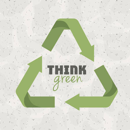 reduce: think green design, vector illustration eps10 graphic