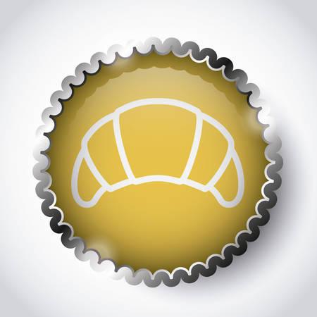 botton: fast food design, vector illustration eps10 graphic