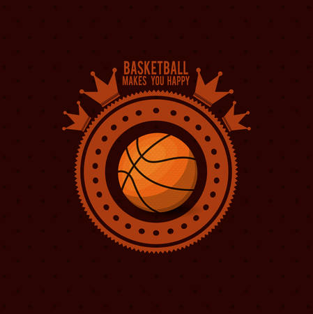 league: basketball league design, vector illustration eps10 graphic Illustration