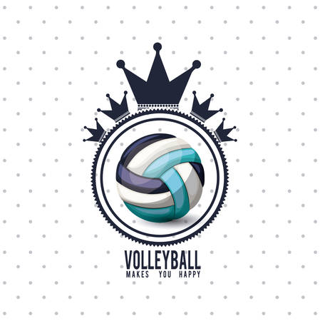 league: volleyball league design, vector illustration eps10 graphic