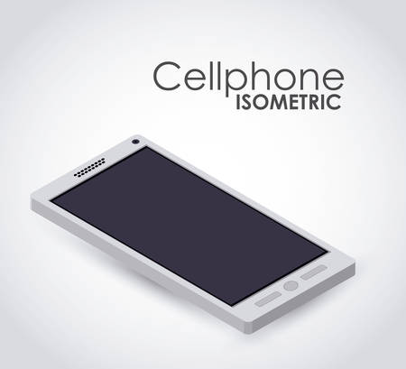 mobil: isometric device icon design, vector illustration eps10 graphic
