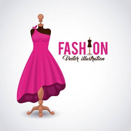 feminine fashion design, vector illustration eps10 graphic Ilustração