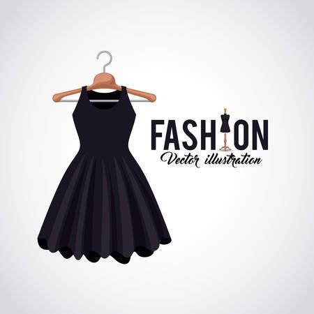 feminine fashion design, vector illustration eps10 graphic Illustration