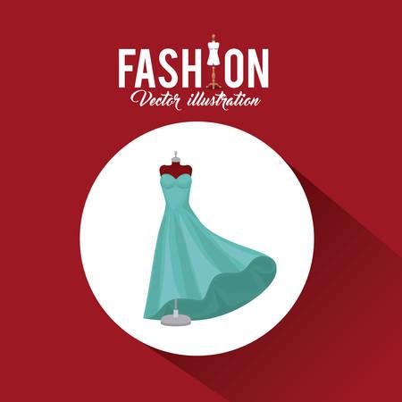 femininity: feminine fashion design, vector illustration eps10 graphic Illustration