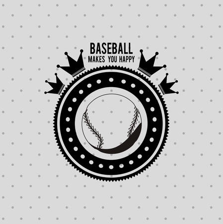 league: baseball league design, vector illustration eps10 graphic Illustration