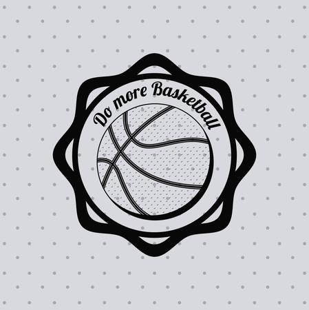 balon de basketball: basketball league design, vector illustration eps10 graphic Vectores