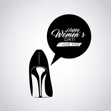 femenine: happy womens day design, vector illustration eps10 graphic