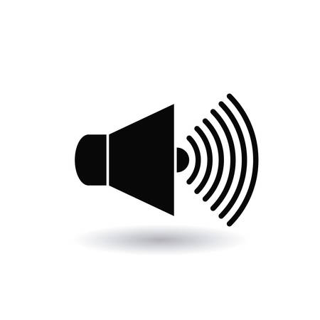 ruido: diseño de la contaminación acústica, ejemplo gráfico del vector eps10 Vectores
