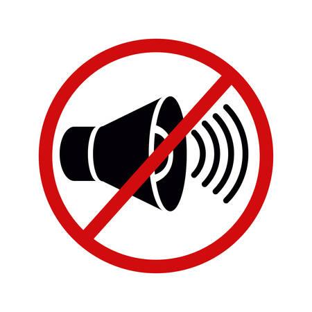 la conception de la pollution sonore, vecteur illustration graphique eps10 Vecteurs