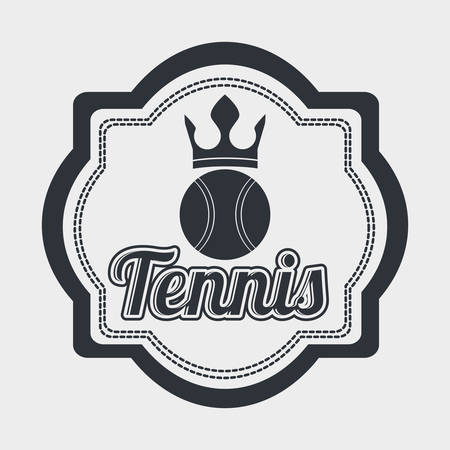 league: tennis league design, vector illustration eps10 graphic Illustration