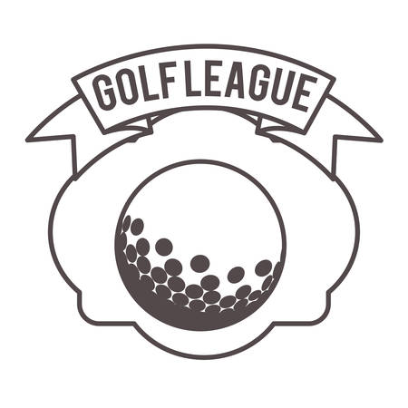 league: golf league design, vector illustration eps10 graphic Illustration