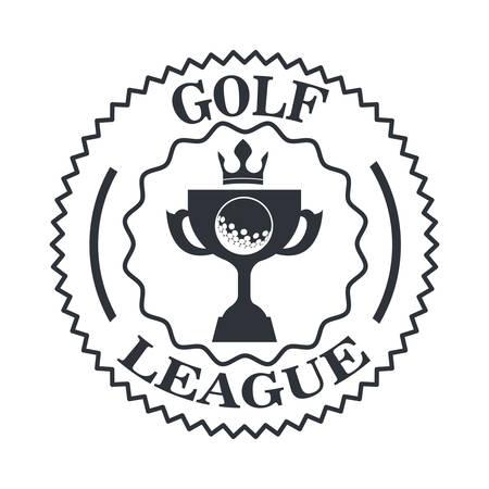 league: golf league design, vector illustration eps10 graphic Illustration