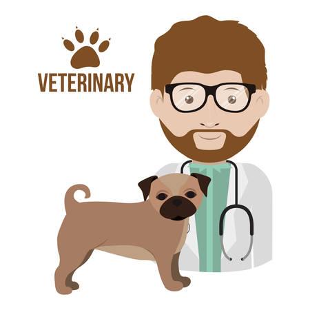 vet clinic design, vector illustration eps10 graphic