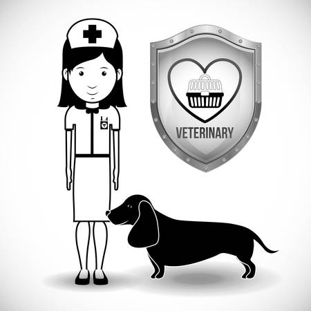 vet: vet clinic design, vector illustration eps10 graphic