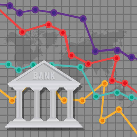 building trade: banking trade design, vector illustration eps10 graphic