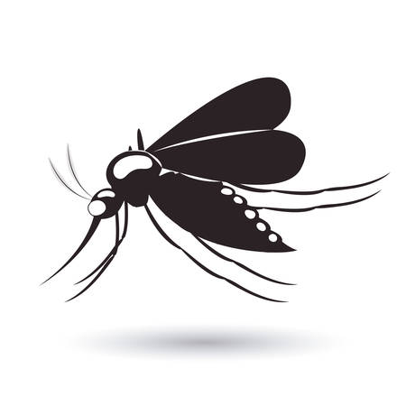 infectious gnat design, vector illustration eps10 graphic