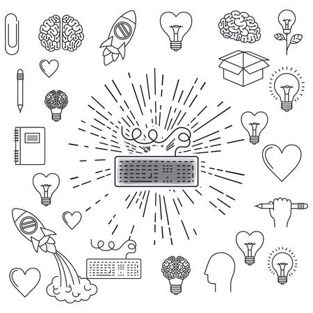 education concept: education concept design, vector illustration eps10 graphic