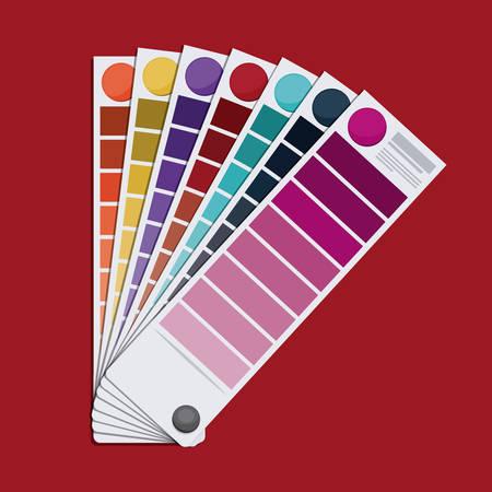 color palette: color palette Design design, vector illustration eps10 graphic Illustration