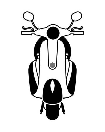 graphic illustration: scooter style design, vector illustration eps10 graphic