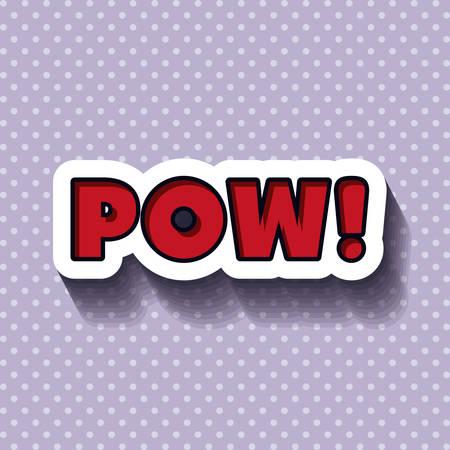 cartooning: pop art message design, vector illustration eps10 graphic