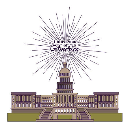 country side: united stastes of america design, vector illustration eps10 graphic Illustration