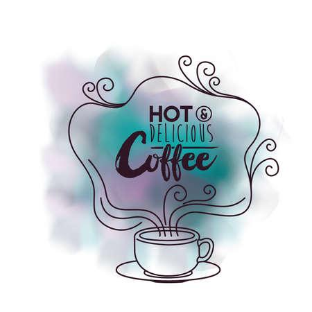 delicious: delicious coffee design Stock Photo
