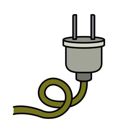 socket adapters: electric plug isolated icon design, vector illustration  graphic