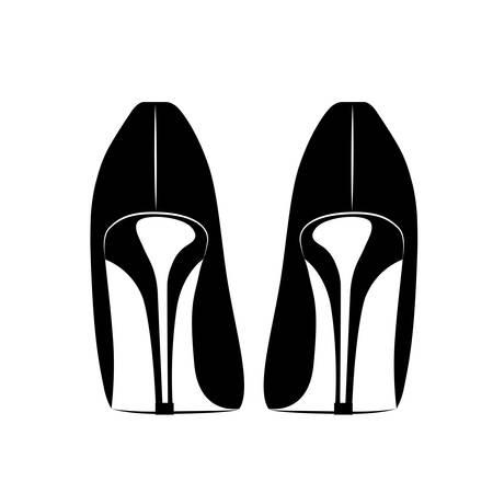 HEELS: beautiful fashion heels isolated icon design, vector illustration  graphic