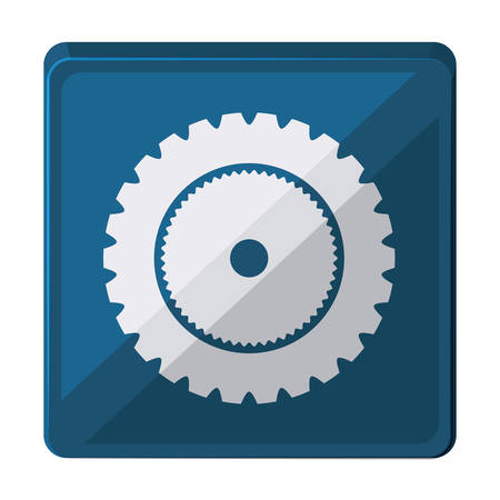 gearwheel: gear wheel  isolated icon design, vector illustration  graphic Illustration