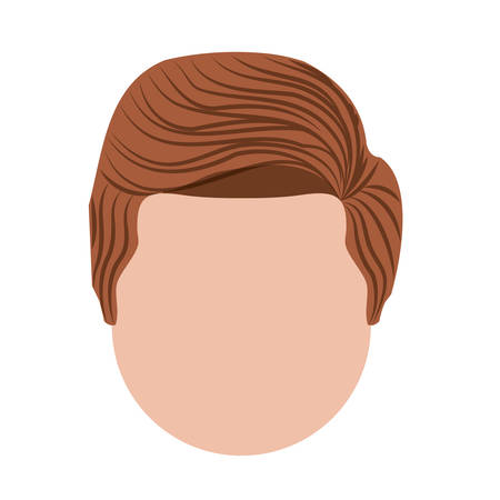 man head: head man  isolated icon design, vector illustration  graphic