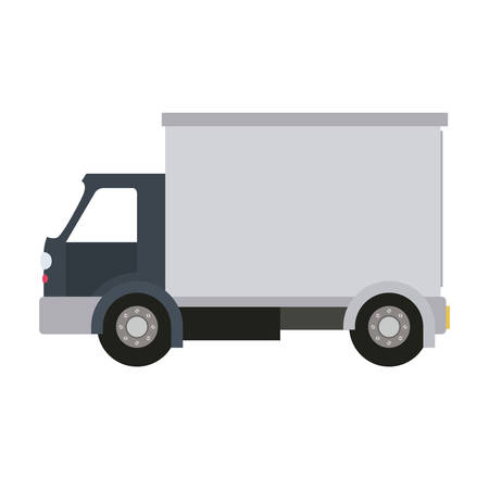 lorry: truck isolated icon design, vector illustration  graphic