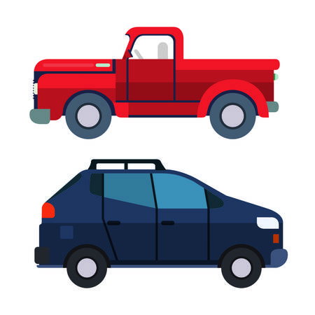 car isolated: car auto vehicle icon vector graphic isolated Illustration