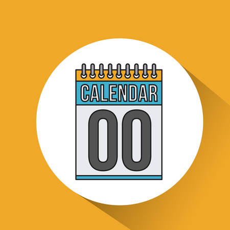 reminder icon: calendar date reminder icon vector isolated graphic