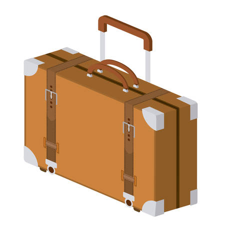 travel bag isolated icon design, vector illustration  graphic