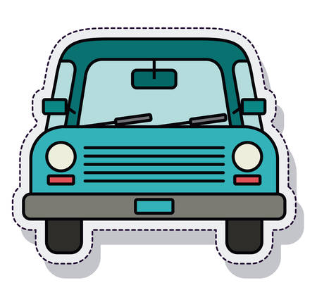 car isolated: car vehicle isolated icon vector illustration design