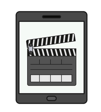 tablet technology isolated icon vector illustration design Ilustração