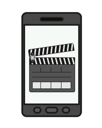 fil: smartphone technology isolated icon vector illustration design