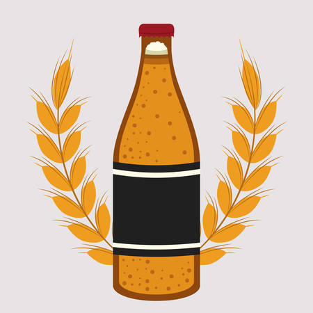 ale: beer drink ale germany vector illustration design Illustration