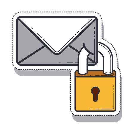 envelope message isolated icon vector illustration design
