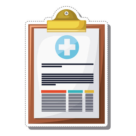 clipboard isolated: order clipboard isolated icon vector illustration design Illustration